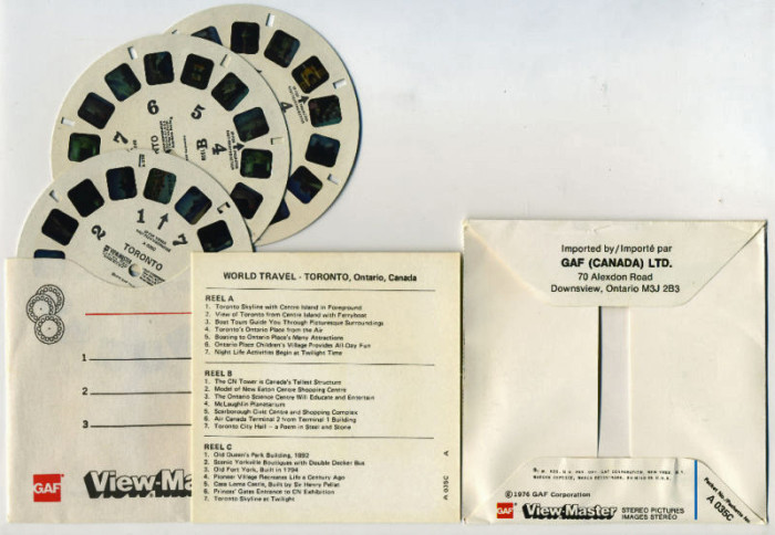 Figure 4.7. Accession KT2011009: View-Master®, 1976. [GAF Corporation]