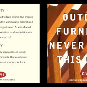 Client: Creative Woodwork International