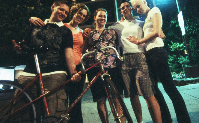 The Fantastic Five. Toronto Pride, Church Street, 29 June 2009 (midnight) [Idlewild].