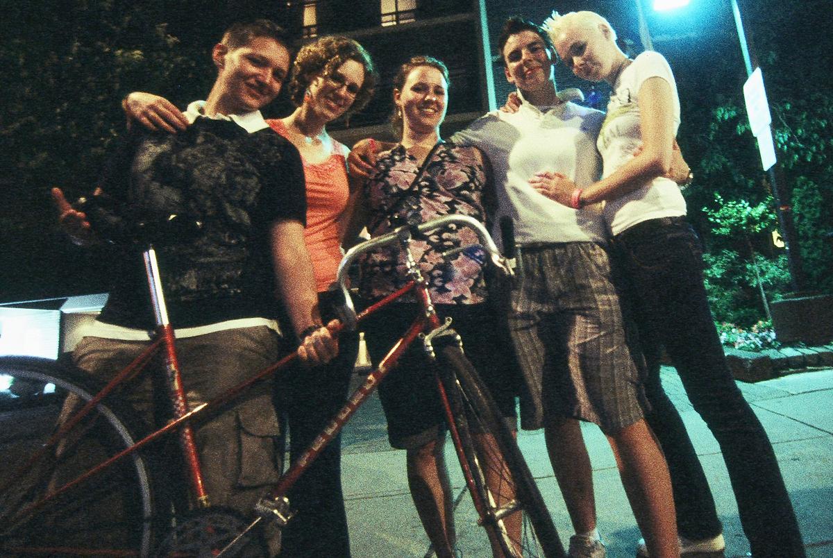 The Fantastic Five. Toronto Pride, Church Street, 29 June 2009 [Idlewild].