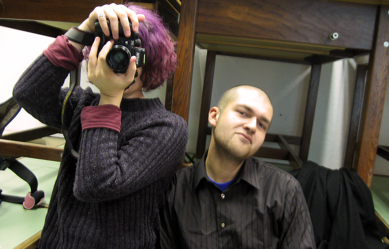 Me and Maks, 1 December 2009 [Taleen Der Haroutiounian]