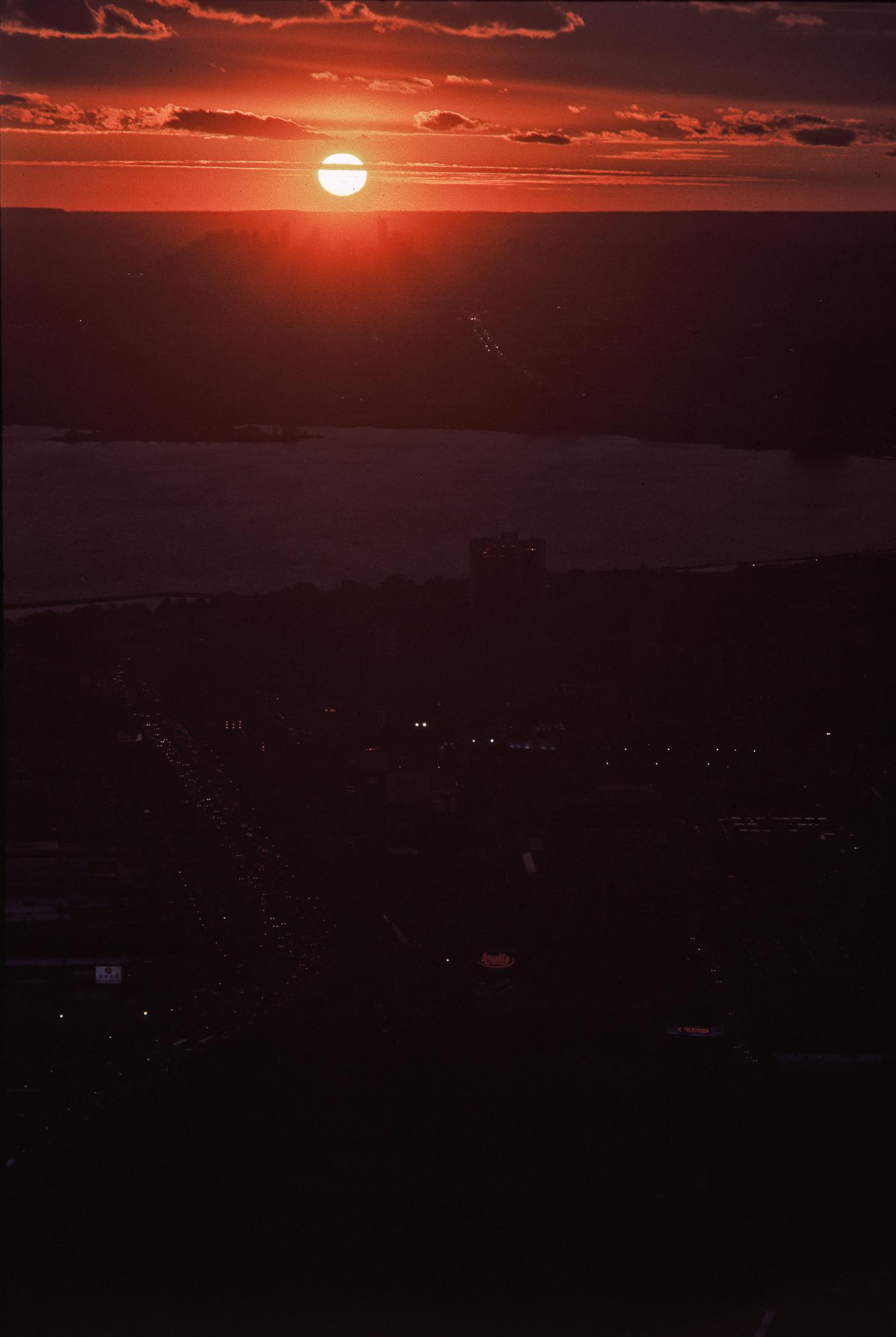 Saugahenge, 18:25 (in Kodachrome 64), 22 October 2010