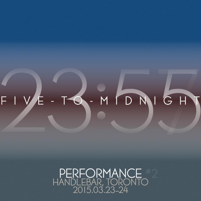 Five-to-Midnight at Handlebar Toronto 2015.03.23