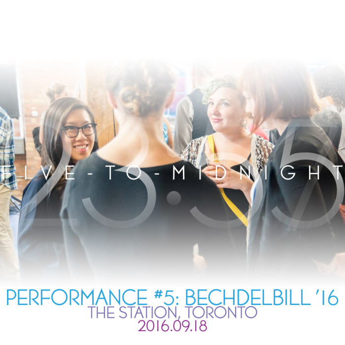 Performance #5: Five-to-Midnight at BechdelBill 2016 [2016.09.17]