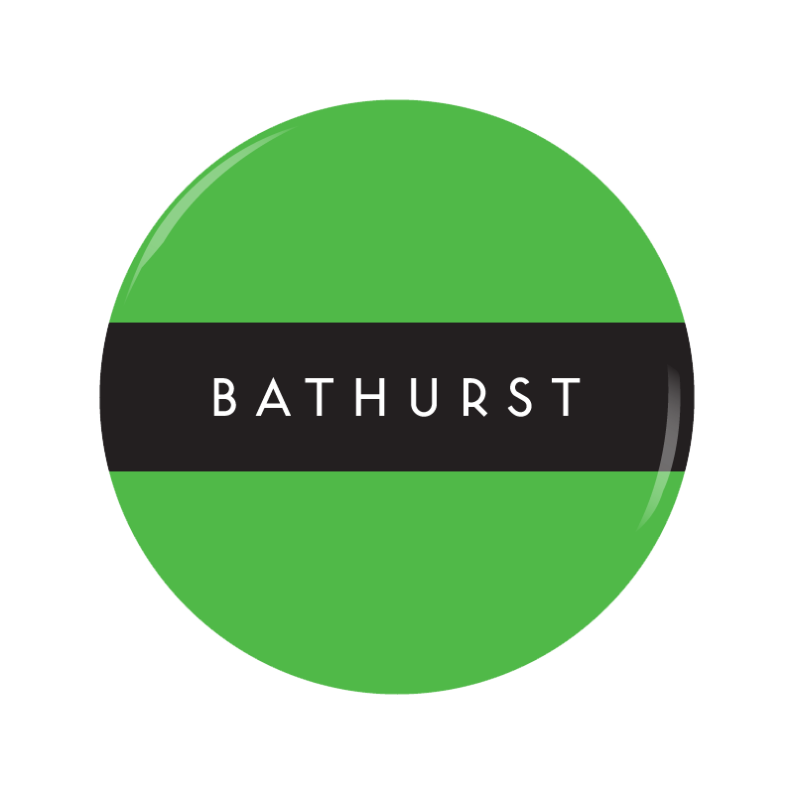 BATHURST button