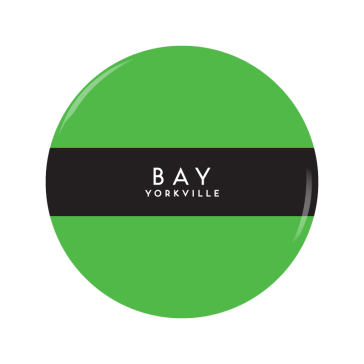 BAY-YORKVILLE button