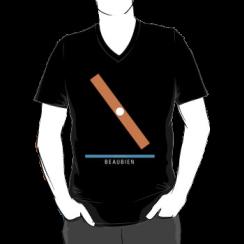 BEAUBIEN - vneck silhouette