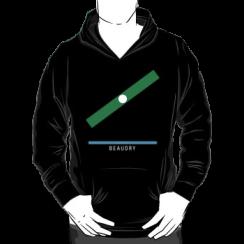 BEAUDRY - hoodie silhouette