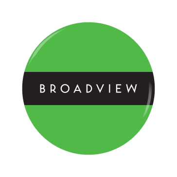 BROADVIEW button