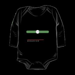 BROADVIEW - onesie silhouette