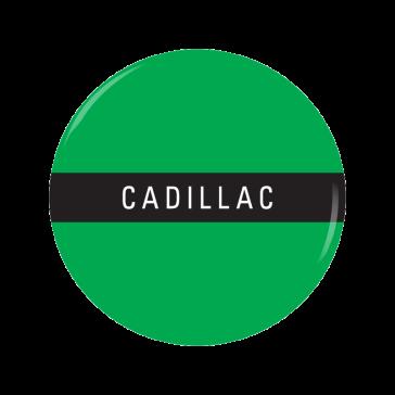 CADILLAC button