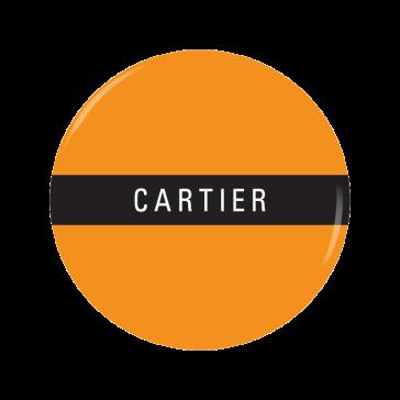 CARTIER button