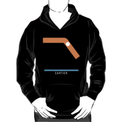 CARTIER - hoodie silhouette