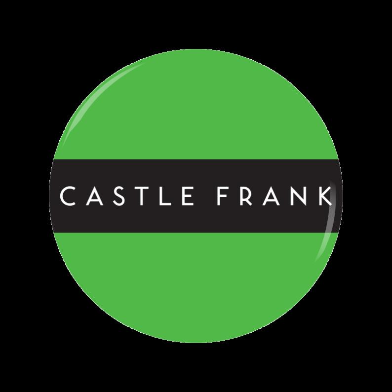 CASTLE FRANK button