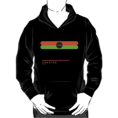 CHESTER 1966 - hoodie silhouette