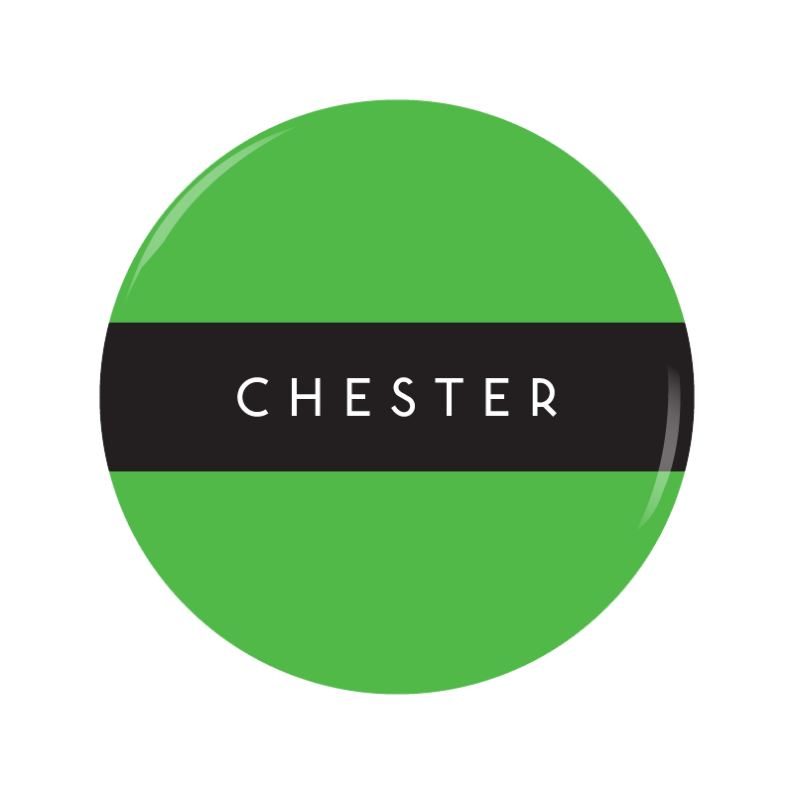 CHESTER button