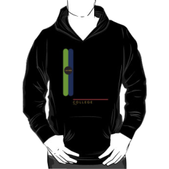 COLLEGE 1966 - hoodie silhouette