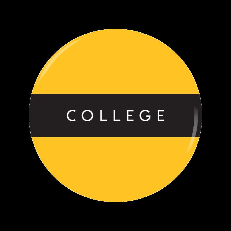 COLLEGE button