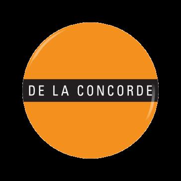 DE LA CONCORDE button
