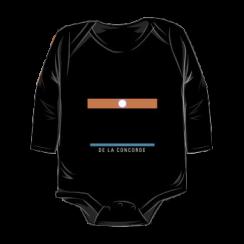 DE LA CONCORDE - onesie silhouette