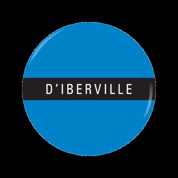 D'IBERVILLE button