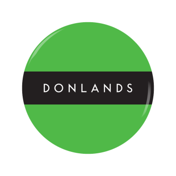DONLANDS button
