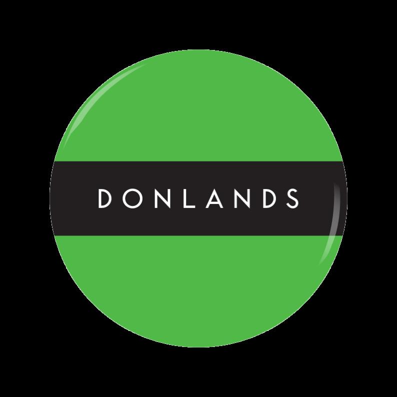 DONLANDS button