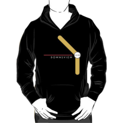 DOWNSVIEW 2016- - hoodie silhouette
