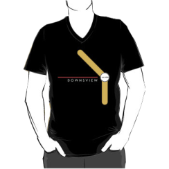 DOWNSVIEW 2016- - vneck silhouette