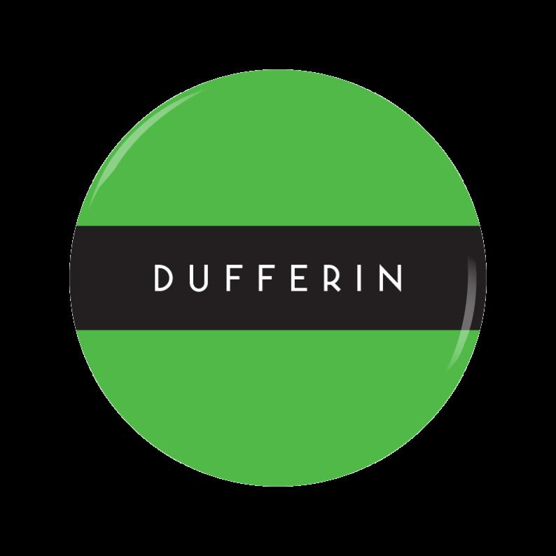 DUFFERIN button