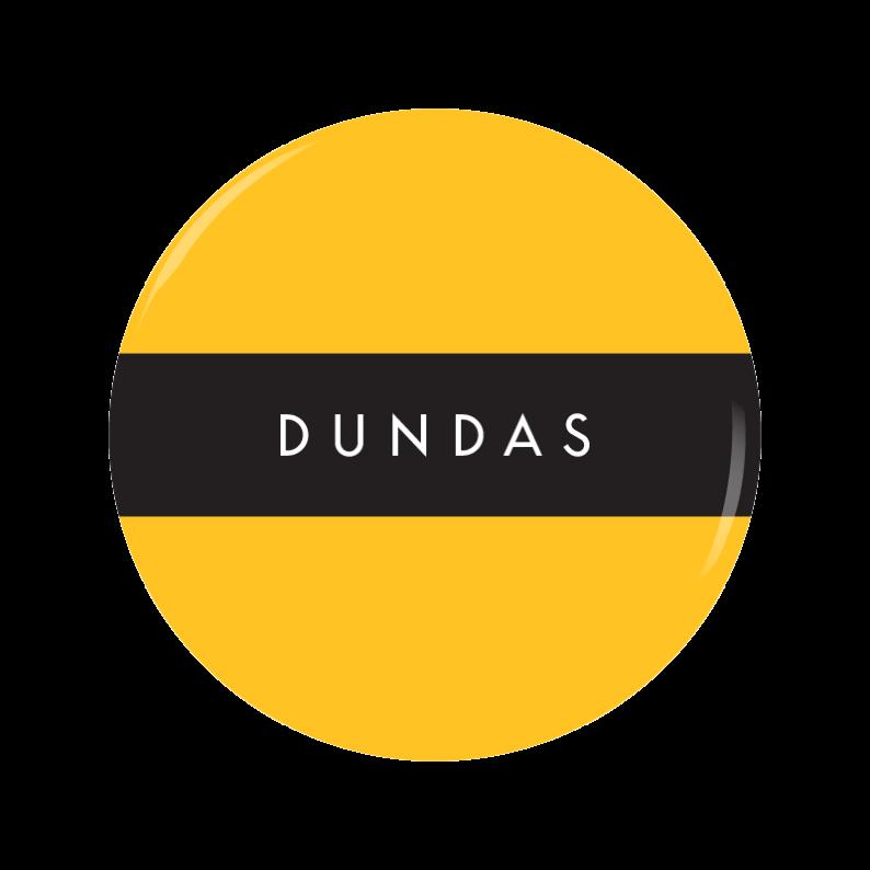 DUNDAS button