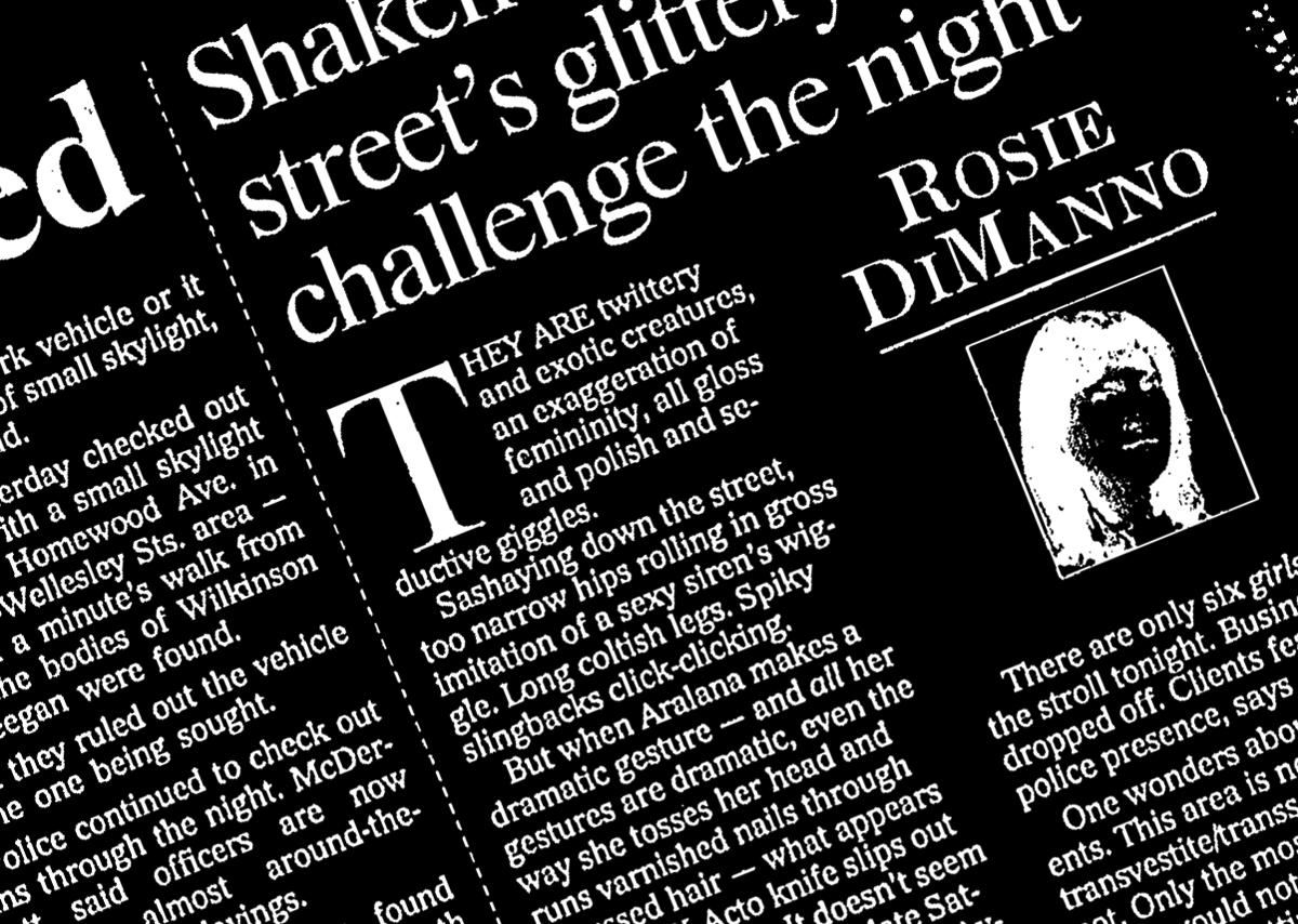 Figure 4. Toronto Star, page A7, Monday, 27 May 1996.