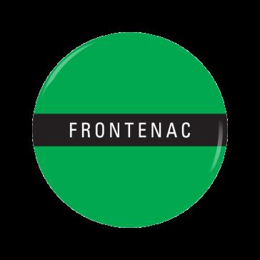 FRONTENAC button