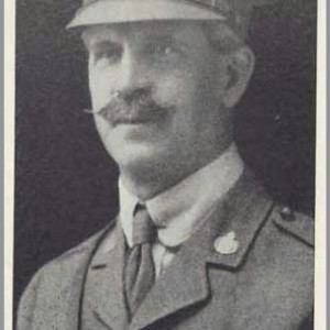 Figure 14. Wellington Wallace, Jr., military photo. He was a successful banker and probably supported his brothers' developments.