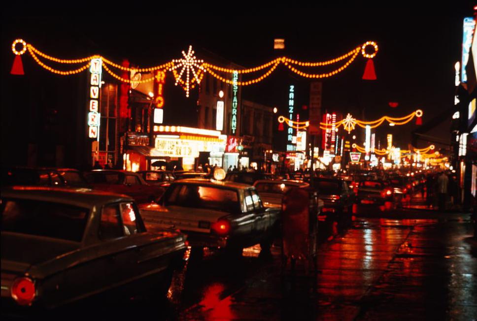 Figure 8. Yonge Street red-light district, ca. 1971 [City of Toronto Archives: Item 49, Fonds 1465].