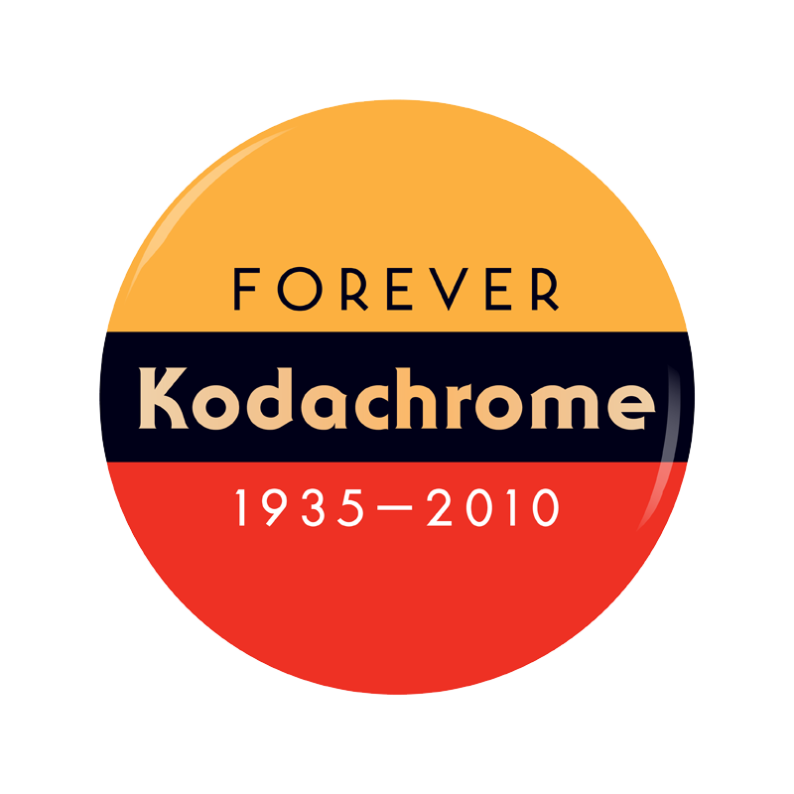 Forever Kodachrome button