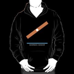 GEORGES-VANIER - hoodie silhouette