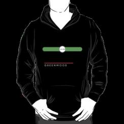 GREENWOOD - hoodie silhouette