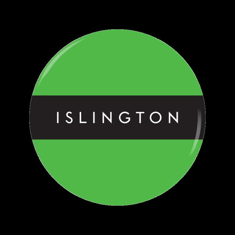 ISLINGTON button