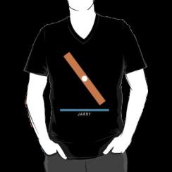 JARRY - vneck silhouette