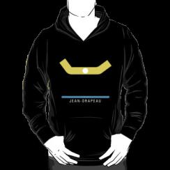 JEAN-DRAPEAU - hoodie silhouette