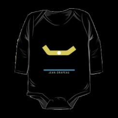 JEAN-DRAPEAU - onesie silhouette
