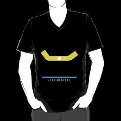 JEAN-DRAPEAU - vneck silhouette