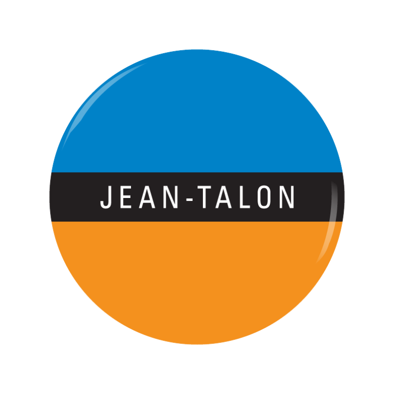 JEAN-TALON button