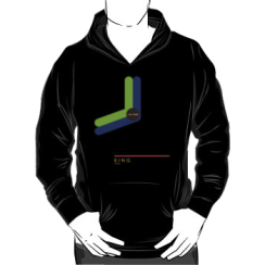 KING 1966 - hoodie silhouette