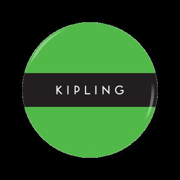 KIPLING button