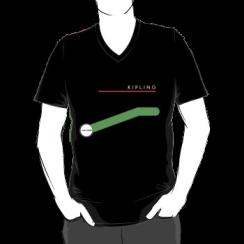 KIPLING - vneck silhouette