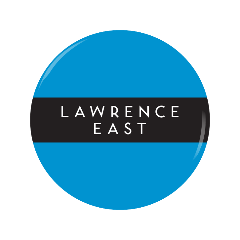 LAWRENCE EAST button