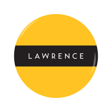 LAWRENCE button