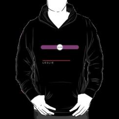LESLIE - hoodie silhouette